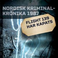 Flight 139 har kapats