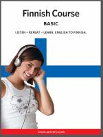 Finnish course