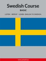 Swedish course [Elektronisk resurs]